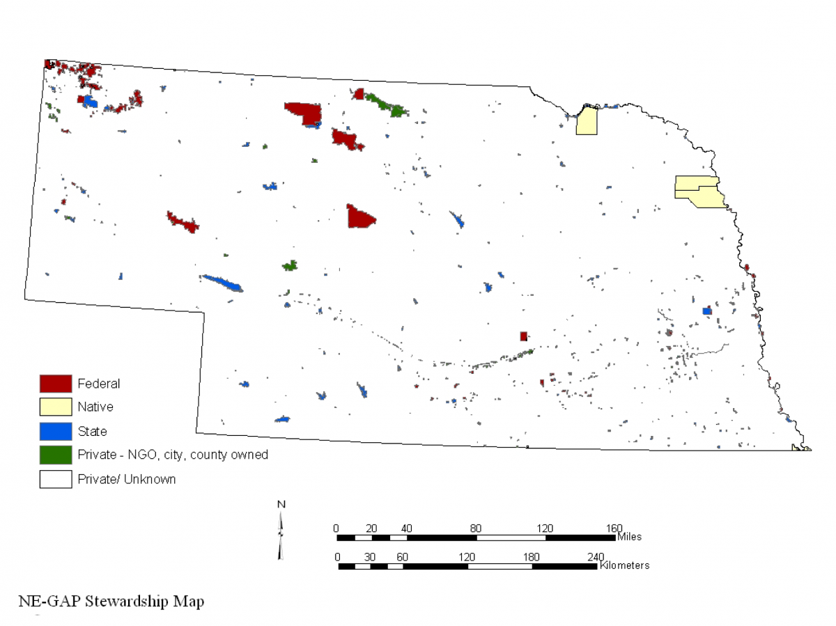 Nebraska GAP Land Stewardship image