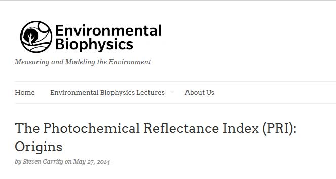 Environmental Biophysics Blog