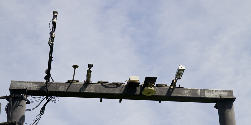 Remote sensing instruments mounted on a bar